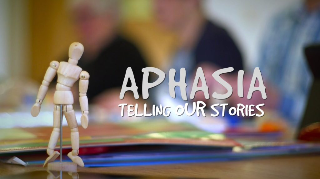 Aphasia - Telling our Stories, film title