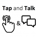Tap and Talk Logo