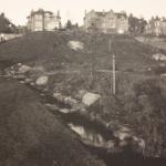 Native hill under construction (1974-1975)