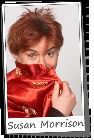 Comedian Susan Morrison