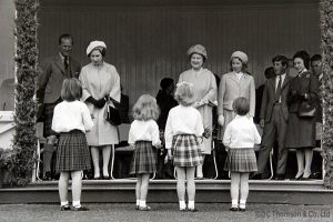 Featuring Prince Phillip. Queen Elizabeth, Elizabeth, the Quenn Mother, Princess Anne, Prince Charles and Princess Margaret
