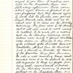 Page of handwritten notes detailing strike action of Dundee's Chartists, extract from 'Reminiscences of Peter Carmichael'