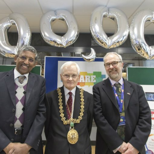 SHARE - 200,000 signatory celebration - Lord Provost