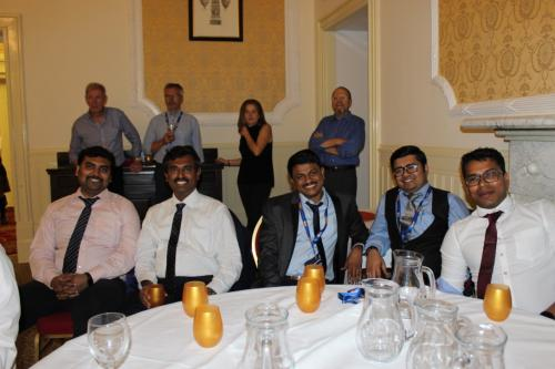 GoDARTS-Pitlochry-Seminar Dinner-A well earned break from dancing