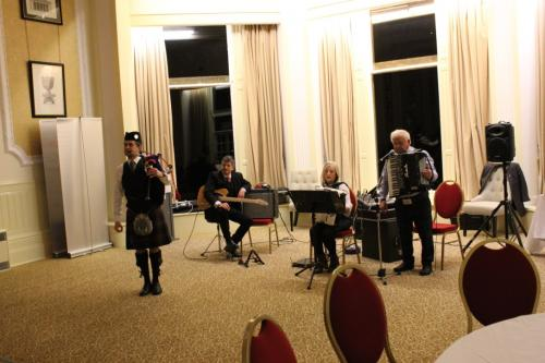 GoDARTS-Pitlochry-Seminar Dinner-Ceilidh Band