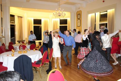 GoDARTS-Pitlochry-Seminar Dinner-Ceiligh dancing