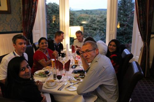 GoDARTS-Pitlochry-Seminar Dinner-Celebration dinner 2