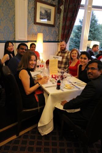 GoDARTS-Pitlochry-Seminar Dinner-celebration dinner 7