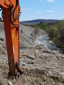 River Garry sediment downstream of intake