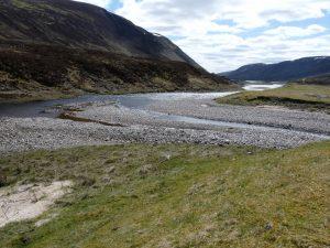 Loch Garry inflow - east end
