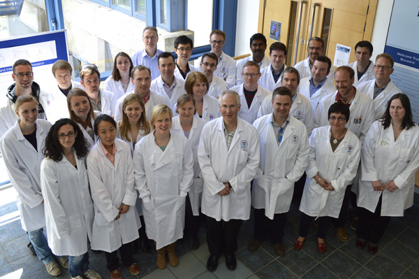 Ian Gilbert's research group in College of Life Sciences, University of Dundee