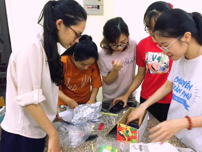 Students' STEM projects