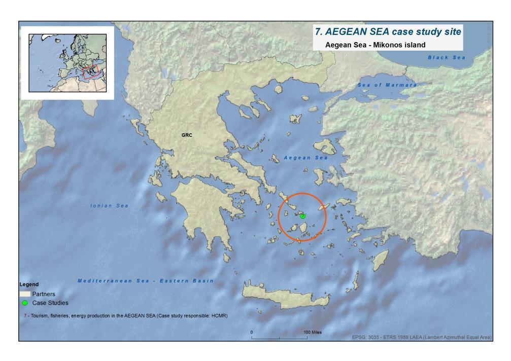 Mediterranean Sea (Aegean Sea)