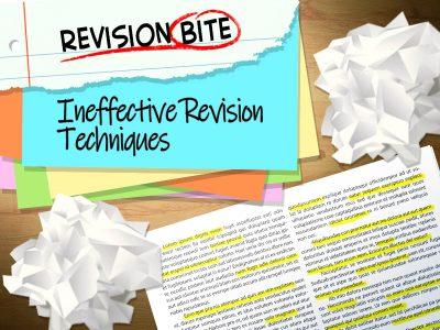 Ineffective Revision Techniques